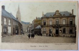 CPA 59 - Caudry - Hôtel De Ville - Animée - 1906 - Caudry