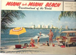 Miami And Miami Beach Vacationland Of The World  22 Pages - Exploration/Travel