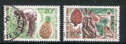 Cote D´ivoire Y&T 260 Et 261 Oblitérés - Costa D'Avorio (1960-...)