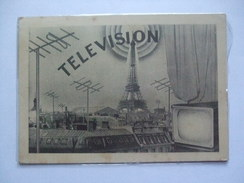 FRANCE 1955 Television Maxi-card Paris Sent To Barcelona - Covers & Documents