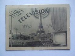 FRANCE 1955 Television Maxi-card Paris Sent To Barcelona - Francia