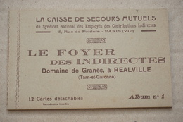 REALVILLE-domaine De GRANES -FOYER DES INDIRECTES ALBUM N°1 - Realville