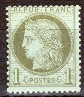 Cérès  N° 50 Neuf ** Gomme D'Origine  TB - 1871-1875 Cérès