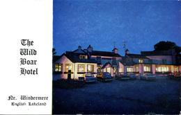 CUMBRIA - WINDERMERE - THE WILD BOAR HOTEL - 3 DIFFERENT CARDS  Cu1118/20 - Cumberland/ Westmorland
