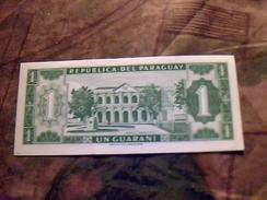 Billet De Banque Du Paraguay De 1 Guarani Neuf Ttbe - Paraguay