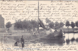 Boom - Briquetiers Chargeant Un Bateau (top Animation, 1905, Bertels) - Boom