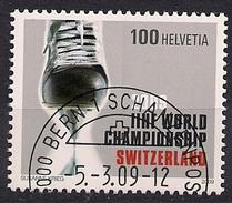 2009 Schweiz Mi.  2097 FD-used  Eishockey-Weltmeisterschaft - Switzerland