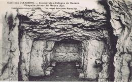 80 - Naours (Somme) - Souterrains-refuges - Chapelle Datant Du Moyen Age - Naours