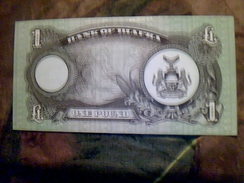 Billet De Banque Du Biafra One Pound NEUF TBE - Billets