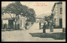 SÃO VICENTE - MINDELLO - Rua D. Carlos ( Ed. Giuseppe Frusoni )  Carte Postale - Cap Vert