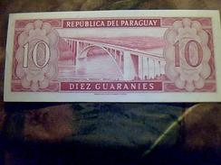 Billet De Banque Du Paraguay De 10 Guaranies NEUF TBE - Paraguay