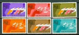 Montserrat 1974  Yv 306/311**, Sc 306/311**,  MNH - Montserrat