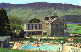 CUMBRIA - BORROWDALE - LODORE SWISS HOTEL - 2 DIFFERENT CARDS  Cu1161/62 - Cumberland/ Westmorland