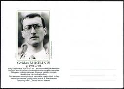 SCIENCES - LITHUANIA - ENVELOPE -  GVIDAS MIKELINIS - ITALIAN LINGUIST - Vecchi Documenti