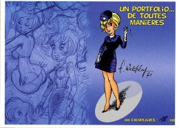 "Portfolio Natacha - Walthéry - ""De Toutes Manières"" - Portfolios"