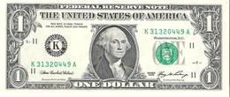 USA - Pick 523 K - 1 Dollar 2006 - Unc - Billets De La Federal Reserve (1928-...)