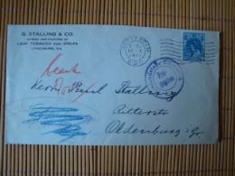 Zensurpost Niederlande Rotterdam Nach Oldenburg, Auslandsstelle Emmerich Freigegeben 1916 - Lettres & Documents
