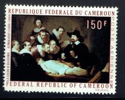 1970  Rembrandt   «La Leçon D'anatomie» ** - Cameroon (1960-...)
