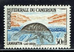 1962  Lamantin 30 Fr  ** - Cameroon (1960-...)