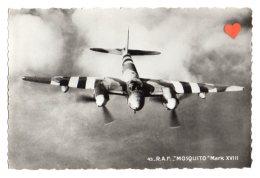"""11917-LE-AVION-R.A.F. De Havilland"""" MOSQUIITO """" Mark XVIII-Construit Entièrement En Bois - Aerei"""