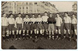 CAFC Praha Vinohrady Fotbal Sekce, Alte Foto Ansichtskarte - Czech Republic