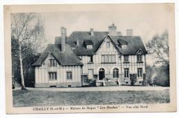"""CHAILLY--1948--Maison De Repos """"Les Roches""""-Vue Coté Nord  éd Comité Central Entreprise SNECMA...à Saisir - Altri Comuni"""