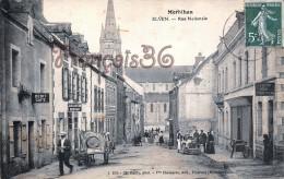 (56) Morbihan -  ELVEN - Rue Nationale - 2 SCANS - Elven