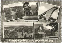 GERMANIA - GERMANY - Deutschland - ALLEMAGNE - Kanzlersgrund Bei Oberhof (Thüringen) Wald - Multivues - Not Used - Allemagne
