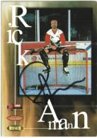 Rick Amann - Canada - Ice Hockey - Sport - With Original Autograph - Cartoline