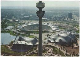 GERMANIA - GERMANY - Deutschland - ALLEMAGNE - 1983 - 60 Pf - München - Blick Auf Olympiapark - Viaggiata Da München ... - Muenchen