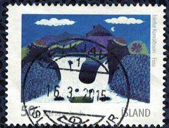 Islande 2010 Oblitéré Rond Used Art Visuel Islandais Isleifur Konradsson - 1944-... Republique