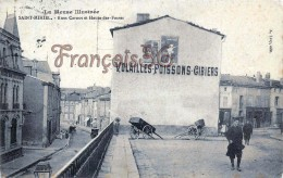 (55) Meuse - St Saint Mihiel - Rue Carnot Et Rue Haute Des Fosses - Rues -  2 SCANS - Saint Mihiel