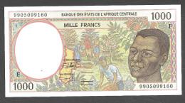 CENTRAL AFRICAN REPUBLIQUE (Central African States) : 1000 Francs  - 1993-2000 - P302F -  UNC - Repubblica Centroafricana