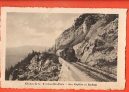 HBY-12 Chemin De Fer Yverdon -  Ste-Croix. Aux Rapilles De Baulmes.Non Circulé. Dériaz 2192 - VD Vaud
