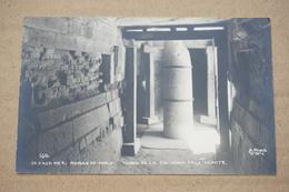 Oaxaca Ruines De Mitla Tombe De La Colonne De La Mort - Messico
