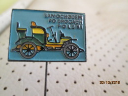 Car Pin - Unclassified