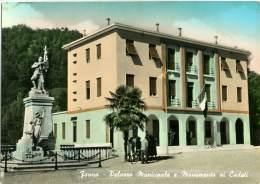 FANNA  PORDENONE   Palazzo Municipale E Monumento Ai Caduti - Pordenone