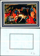 84462) Niue-1980- Pasqua-pietà Di Botticelli-bellini E Van Dyck-3-BF-n.29-30-31-nuovi - Niue