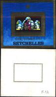84467) Seychelles-1979- Natale-la Fuga In Egitto-BF-n.12-nuovo - Seychelles (1976-...)