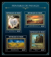 NIGER 2016 - Landscapes On Paintings: V. Van Gogh. Official Issue - Impressionisme