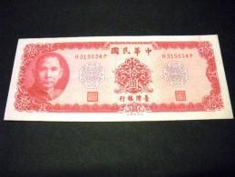 TAÏWAN 10 Yuan 1960, Pick N° 1979 A, TAIWAN - Taiwan