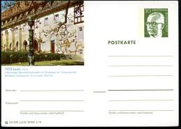 BUND P109 A6/52 Bild-Postkarte LORCH BENEDIKTINERKLOSTER ** 1973 - Klöster
