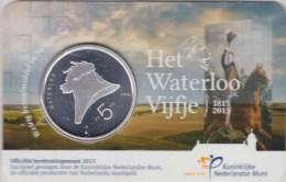 @Y@  Nederland   5 Euro  2015  Waterloo Coincard UNC - Netherlands