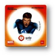 MARVEL HEROES - SENHOR FANTÁSTICO MR. - GALP ENERGIA N.º 01 - PORTUGAL - Marvel Heroes