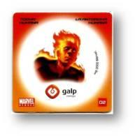 MARVEL HEROES - TOCHA HUMANA - LA ANTORCHA - GALP ENERGIA N.º 02 - PORTUGAL - Marvel Heroes