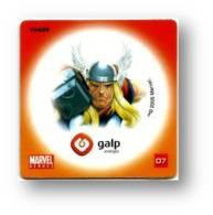MARVEL HEROES - THOR - GALP ENERGIA N.º 07 - PORTUGAL - Marvel Heroes