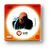 MARVEL HEROES - REI DO CRIME - KINGPIN - GALP ENERGIA N.º 11 - PORTUGAL - Marvel Heroes