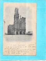 NANCY - 54 -   CPA DOS SIMPLE Du 7 Juin 1900 De L'Eglise Saint Pierre - ENCH0616 - - Nancy