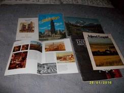 5 Livres Sur L'Amérique Du NORD Et Une Carte De L'ONTARIO - Culture