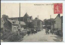 Berthecourt-Eglise Et Ecoles - Francia